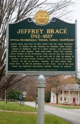 Jeffrey Brace Marker image. Click for full size.