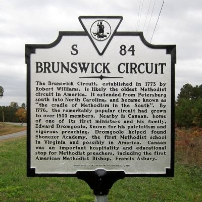 Brunswick Circuit Marker image. Click for full size.