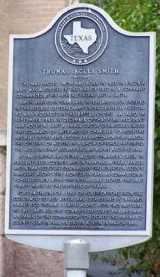 Thomas Ingles Smith Marker image. Click for full size.