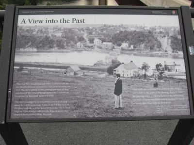 A View into the Past Marker Photo, Click for full size