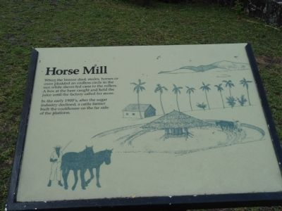 Horse Mill Marker image. Click for full size.