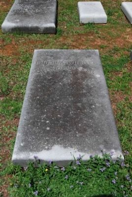Dr. Philip A. Wilhite Tombstone<br>Old Silver Brook Cemetery, Anderson, SC image. Click for full size.