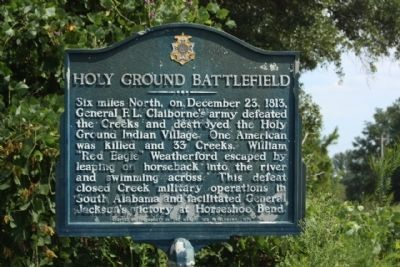 Holy Ground Battlefield Marker image. Click for full size.