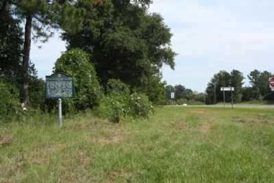 Holy Ground Battlefield Marker, near U.S. 80, (State Route 8) image. Click for full size.
