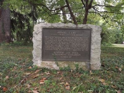 Henry Clay Marker Photo, Click for full size