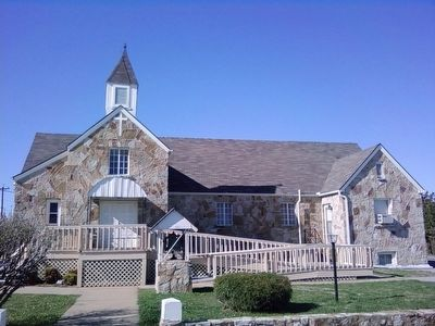 Comanche Reformed Church image. Click for full size.