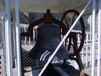 Comanche Reformed Church bell Photo, Click for full size