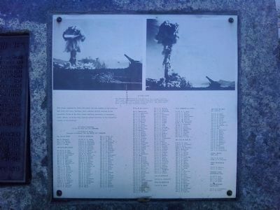 280mm Heavy Motorized Gun M65 Marker - right side Photo, Click for full size