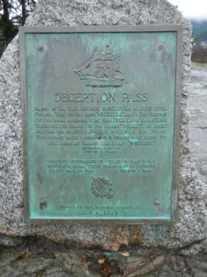 Deception Pass Marker image. Click for full size.