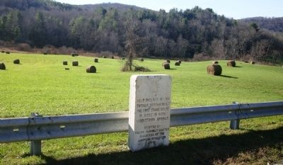 Site of first frame house in Middletown Springs, VT image. Click for full size.