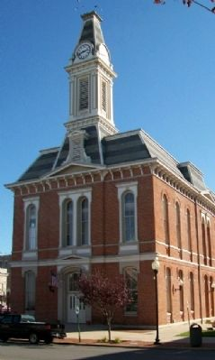 Greenfield, Ohio, City Hall Photo, Click for full size