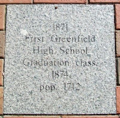Greenfield, Ohio, Timeline Marker Photo, Click for full size