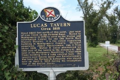Lucas Tavern Marker Photo, Click for full size