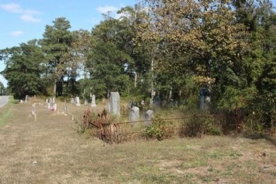Bethel Church Cemetery, across the road from the church image. Click for full size.