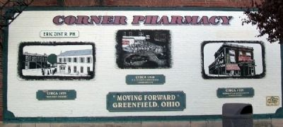 Corner Pharmacy Mural Photo, Click for full size
