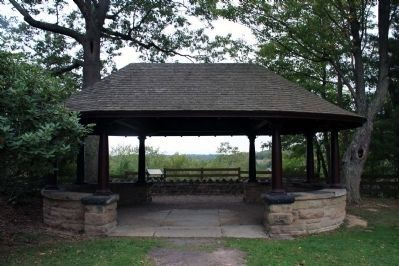 The gazebo at Friendship Hill National Historic site image. Click for full size.