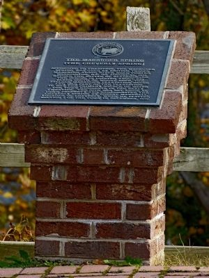 The Magruder Spring Marker image. Click for full size.