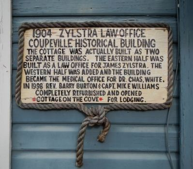 Zylstra Law Office Marker image. Click for full size.