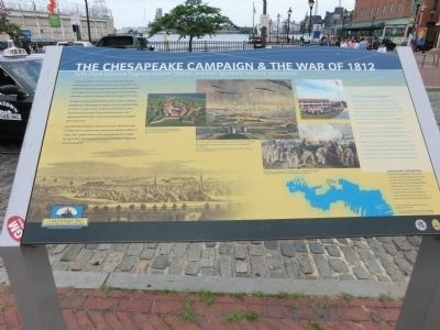 The Chesapeake Campaign & The War of 1812 Marker image. Click for full size.