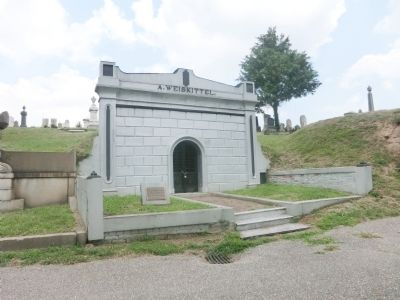 Weiskittel Mausoleum Marker image. Click for full size.