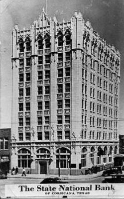 State National Bank of Corsicana Texas image. Click for full size.