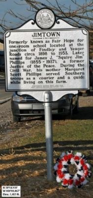 Jimtown Marker image. Click for full size.