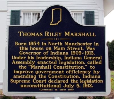 thomas riley marshall