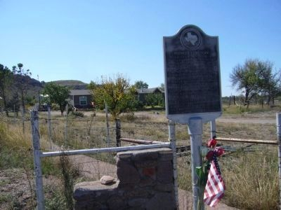 Pioneer Cemetery Marker Photo, Click for full size