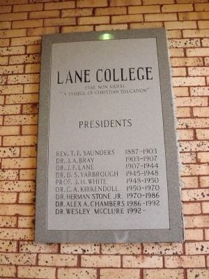 Lane College image. Click for full size.