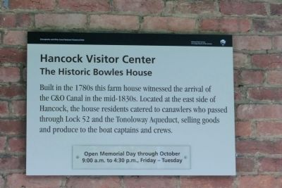 Chesapeake and Ohio Canal National Historical Park Marker image. Click for full size.
