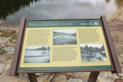 New Germany Lake Marker image. Click for full size.