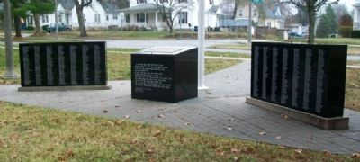 Vietnam Memorial For Casualties From Missouri image. Click for full size.