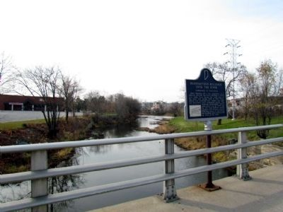 View of marker on the bridge image. Click for full size.