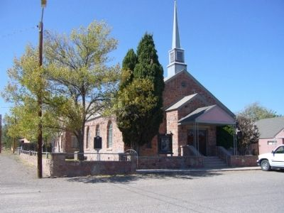 First Baptist Church of Fort Davis image. Click for full size.