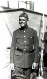 Chaplain Duffy, WWI image. Click for full size.