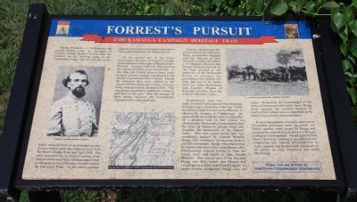 Forrest's Pursuit Marker Photo, Click for full size