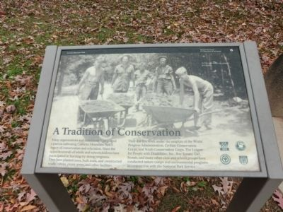 Catoctin Mountain Park Marker image. Click for full size.
