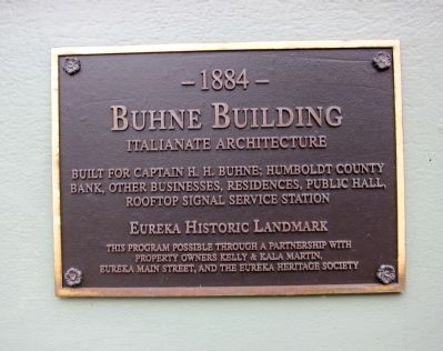 Buhne Building Marker image. Click for full size.