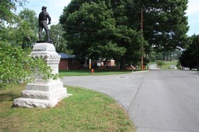 Tennessee Cavalry Marker image. Click for full size.