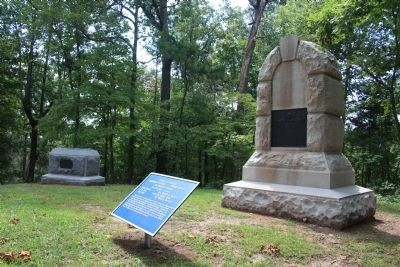 82nd Indiana Infantry Marker Photo, Click for full size