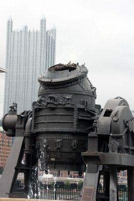 10 ton Bessemer Converter image. Click for full size.