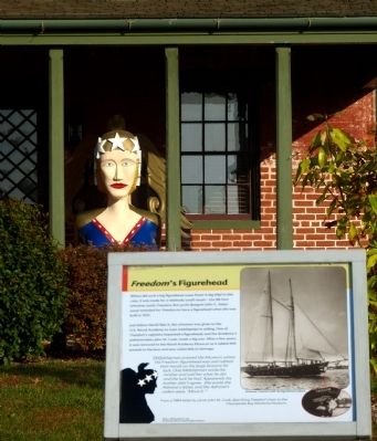 Freedom's Figurehead Marker image. Click for full size.