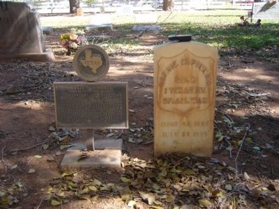 Dorsie M. Pinnell Marker image. Click for full size.