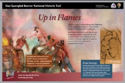 Up in Flames Marker Photo, Click for full size