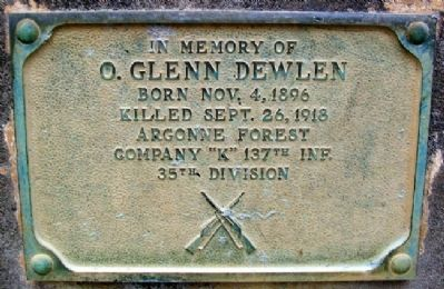 O. Glenn Dewlen Marker Photo, Click for full size