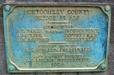 Dewlen - Spohnhauer Bridge No. 628 Marker Photo, Click for full size