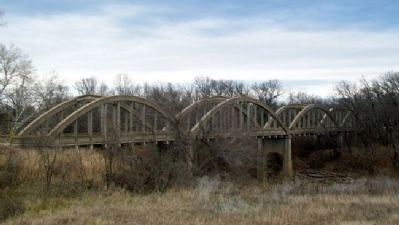 Dewlen - Spohnhauer Memorial Arch Bridge Photo, Click for full size