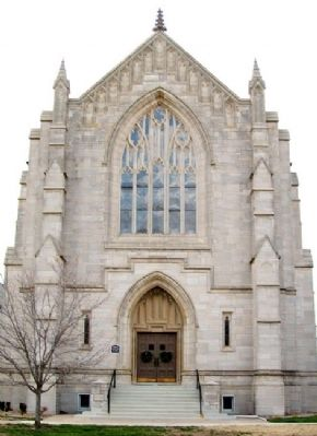 First Presbyterian Church, Independence KS image. Click for full size.