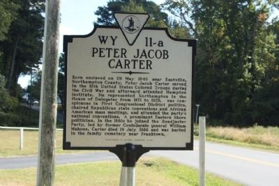 Peter Jacob Carter Marker image. Click for full size.