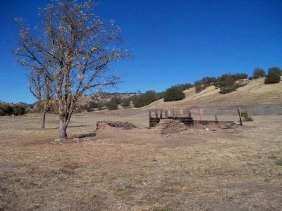 Ruins Of An Adobe Structure & Corral On The Mission Grounds image. Click for full size.